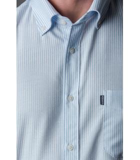 Camisa Oxford Listrada