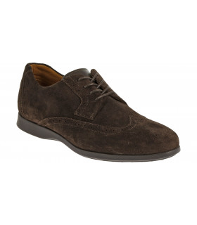 Teague Wing Tip Suede