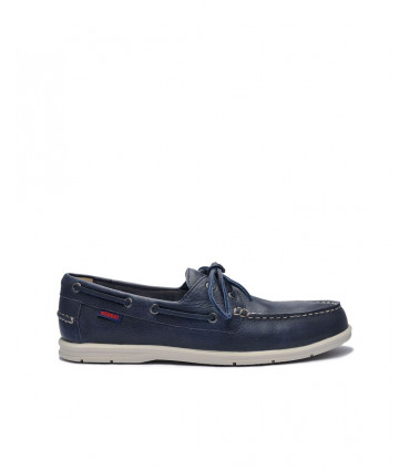 Naples Leather Boat Shoe