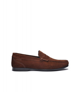 Byron Suede Driving Shoe