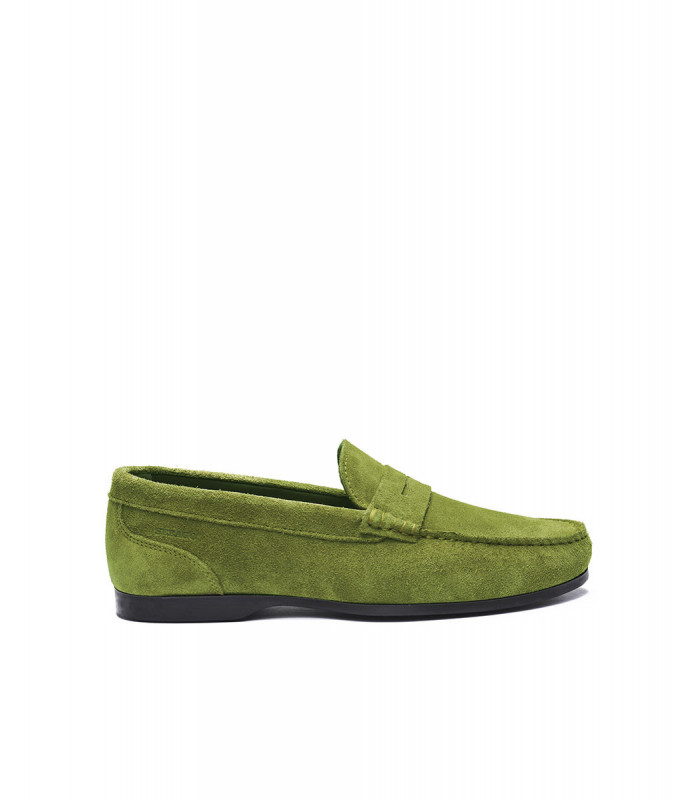 Byron Suede Penny Loafer